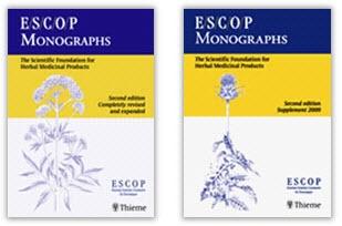 ESCOP Monographs - bound collections